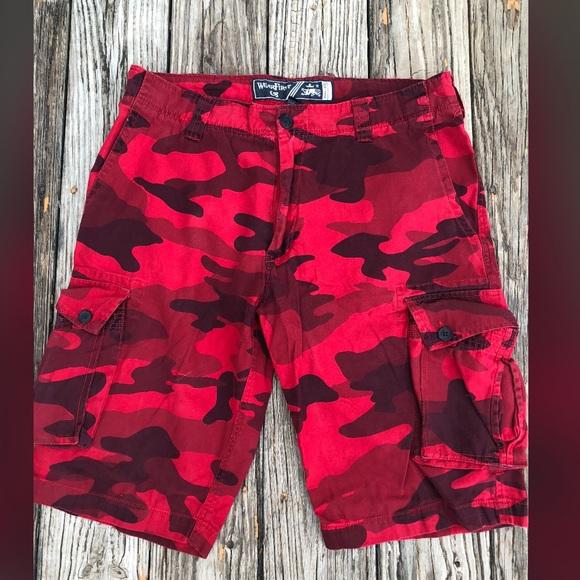 ❌WearFirst Red Camo❌ MENS shorts. M 5ad0e321caab4435037c1db9 c1341fcf7bb